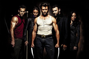 The cast of X-Men Origins: Wolverine, as photographed by Michael Muller