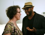 Elisabeth Sinsabaugh, executive director of photography at NBC Universal, and Kwaku Alston.