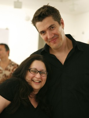Michelle Sack with John Peed of Cold Open.