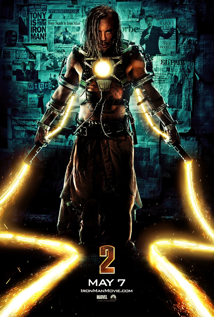 Iron Man 2: New Work: Iron Man 2, Spartacus, Crazy Heart, And More By