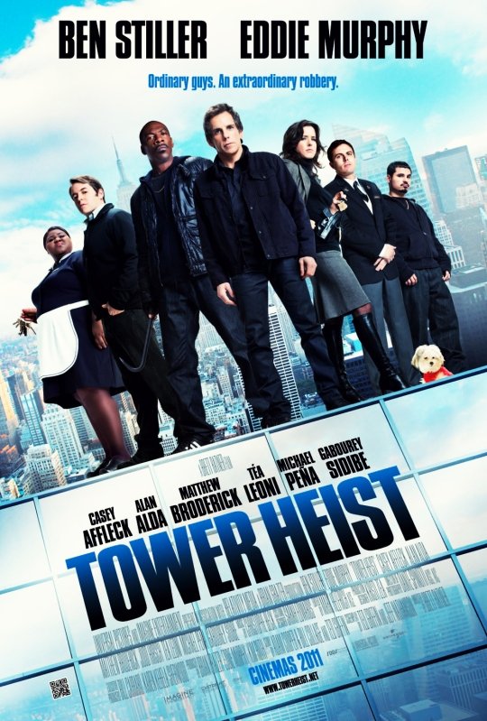 "Michael Muller shoots ""Tower Heist"" movie posters ..."