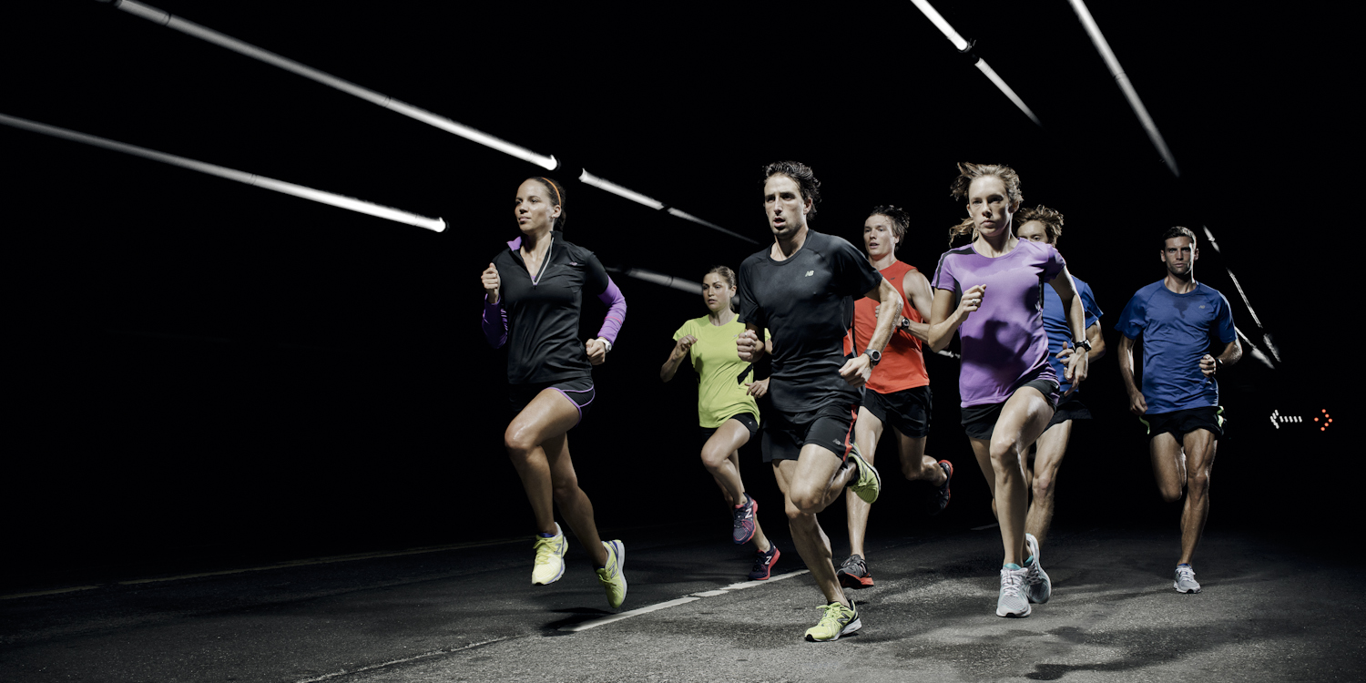 New work: Jorg Badura for New Balance, with time-lapse ...