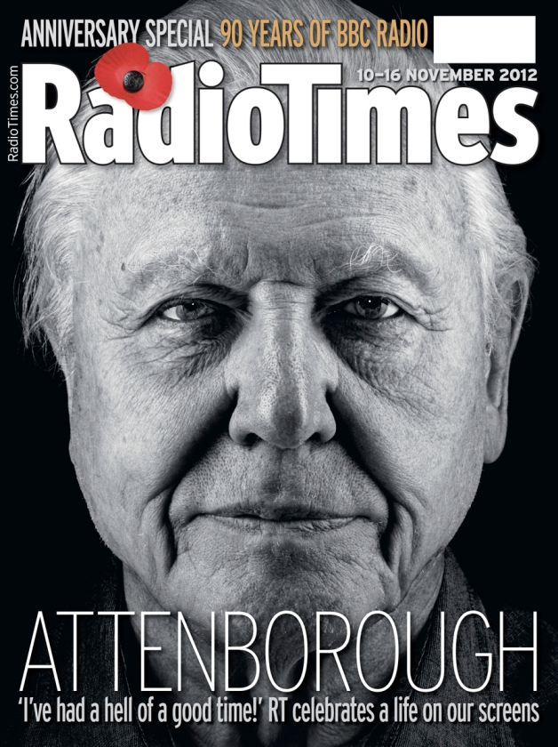 Sir David Attenborough. Photo by Nadav Kander for Radio Times.