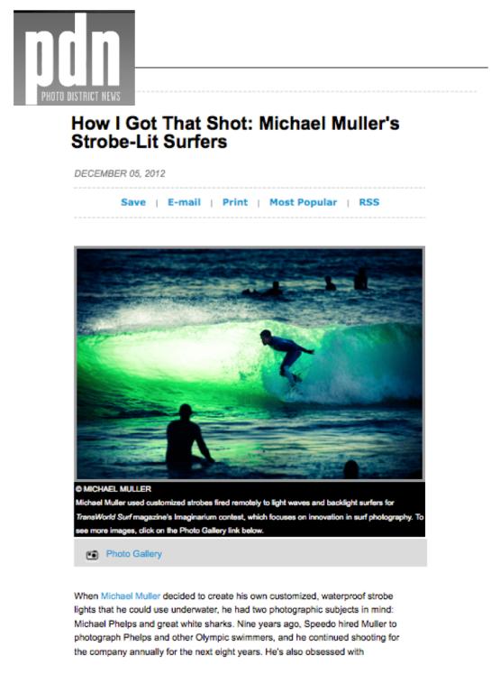 Michael Muller - PDN