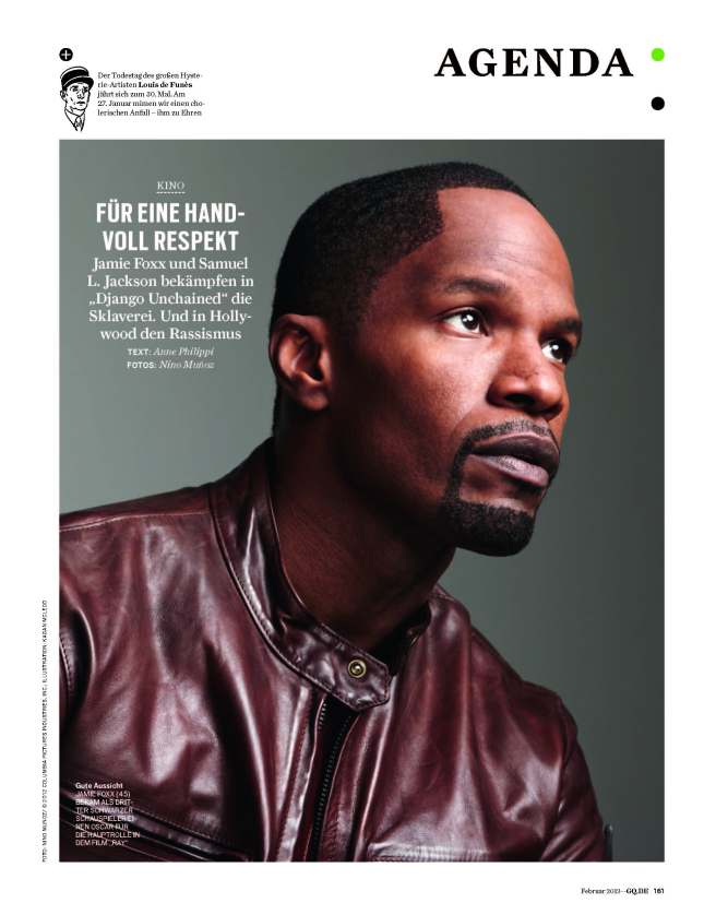 Jamie Foxx. Photo by Nino Muñoz for Sony PIctures.