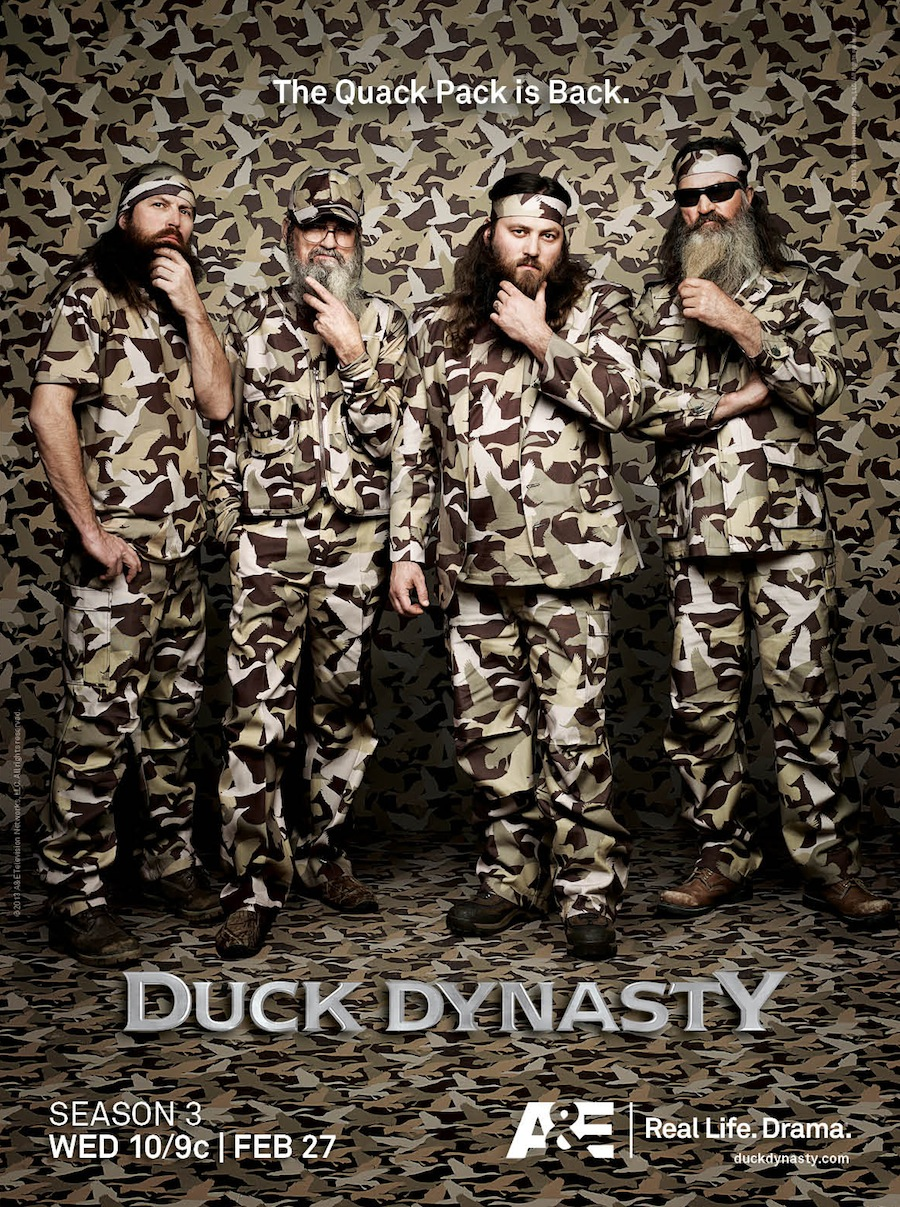 "art for ""Duck Dynasty."" Plus: behind-the-scenes video and stills"