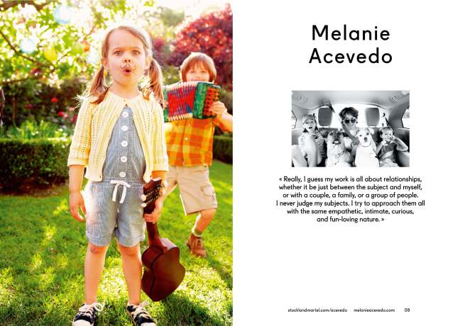 Melanie Acevedo's opening spread in SMart Book 2013.