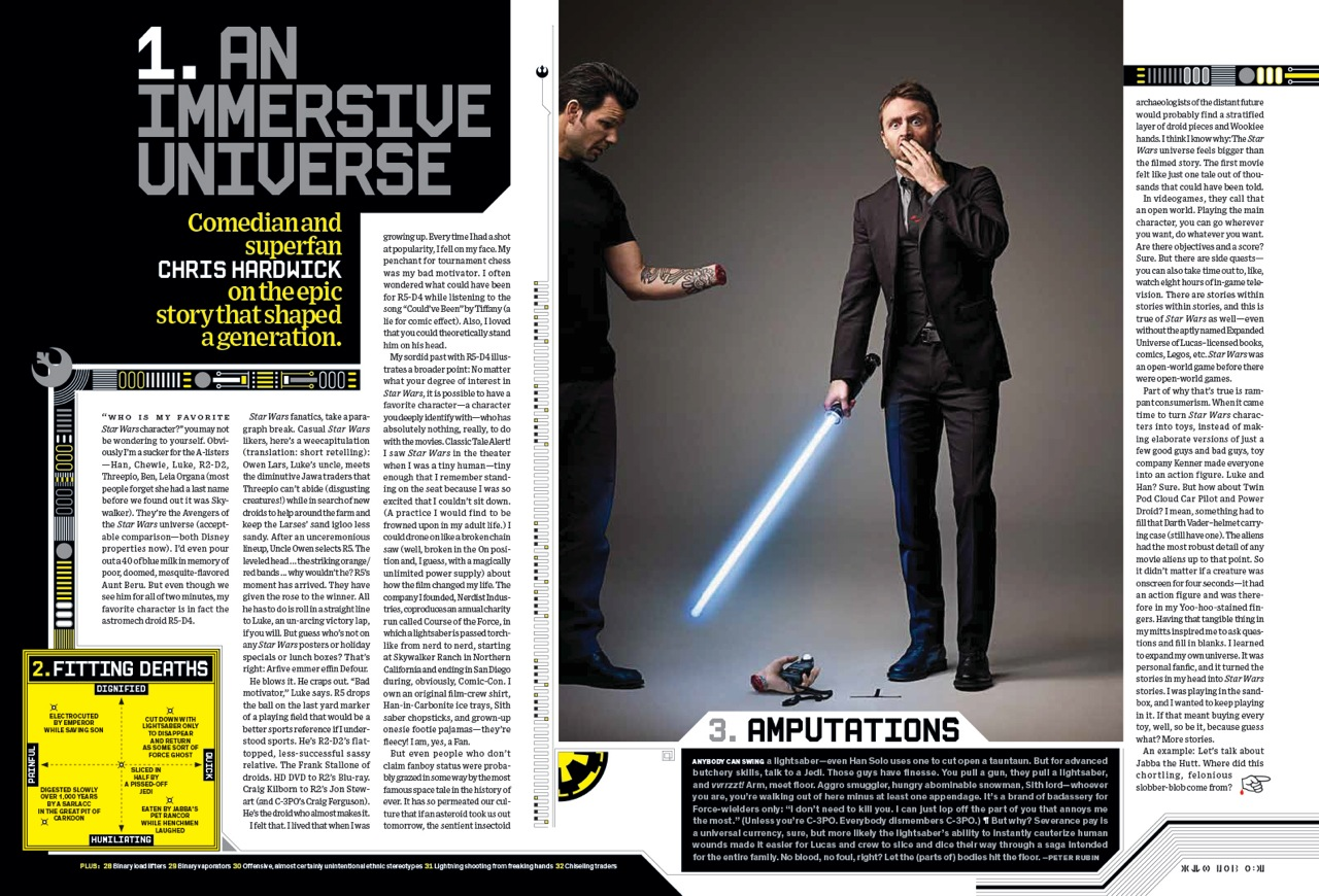 """Art Streiber on shooting Wired\'s """"Star Wars"""" cover. Plus: behind-the ..."""
