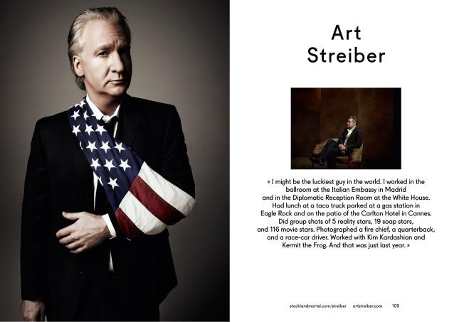 Art Streiber's opening spread in SMart Book 2013.