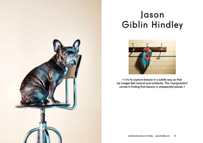 """Ouie Pierre at left and Jason """"Giblin"""" Hindley's self-portrait on the right, as seen in SMart Book 2013."""