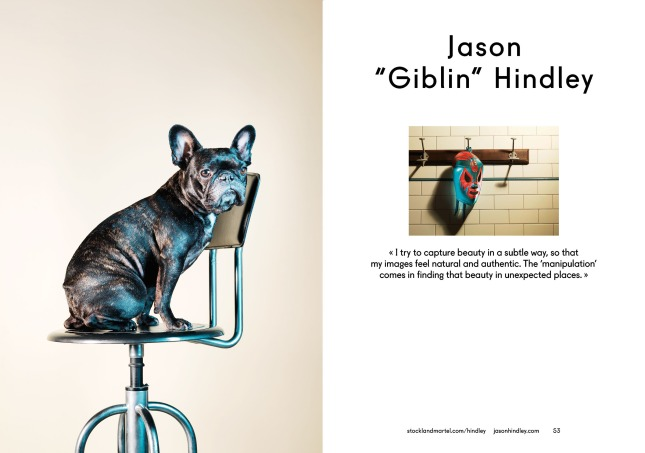 """Jason """"Giblin"""" Hindley's opening spread in SMart Book 2013."""