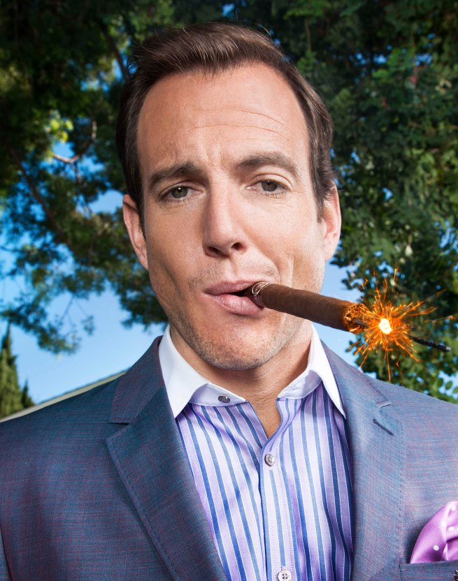 Will Arnett. Photo by Matthias Clamer.