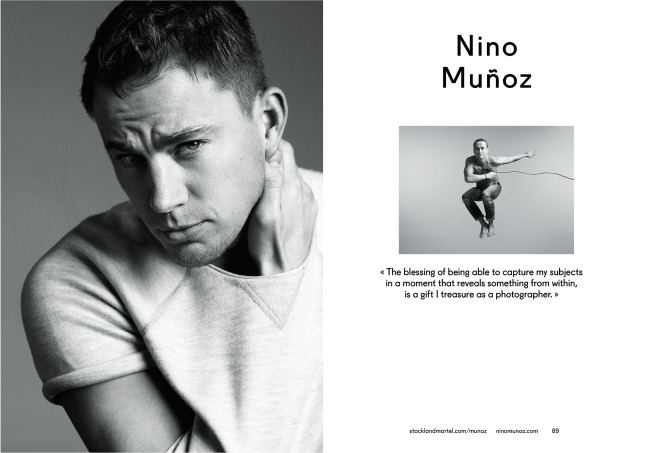 Nino Muñoz's opening spreads in SMart Book 2013.