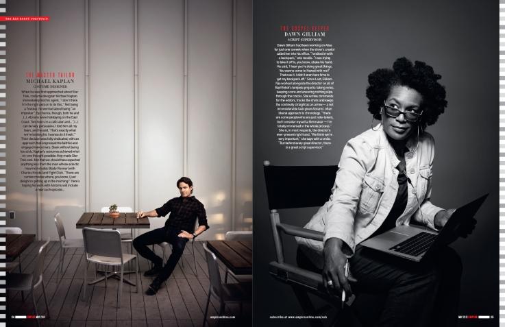 Photos by Art Streiber for Empire magazine.