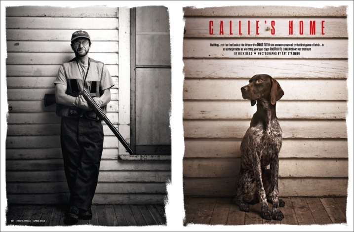 Photos by Art Streiber for Field & Stream, April 2013 issue.