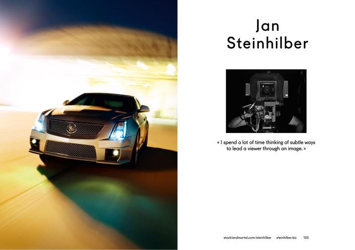 Jan Steinhilber's opening spread in SMart Book 2013.