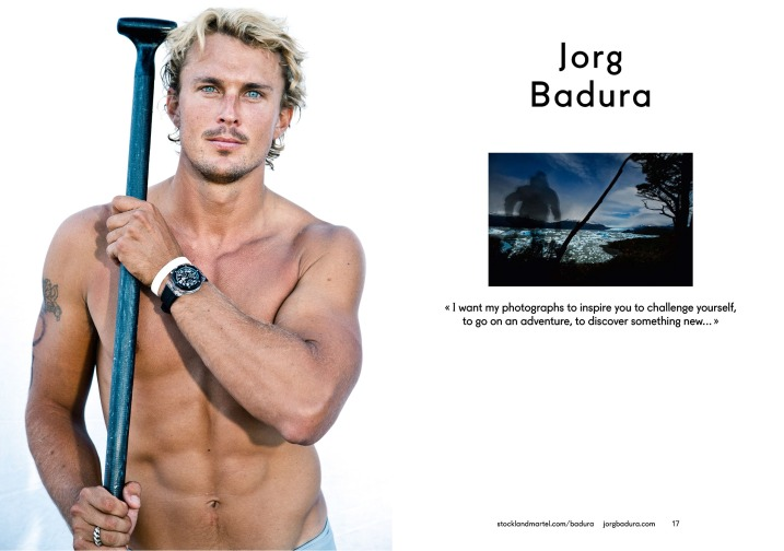 Jorg Badura's opening spread in SMart Book 2013.