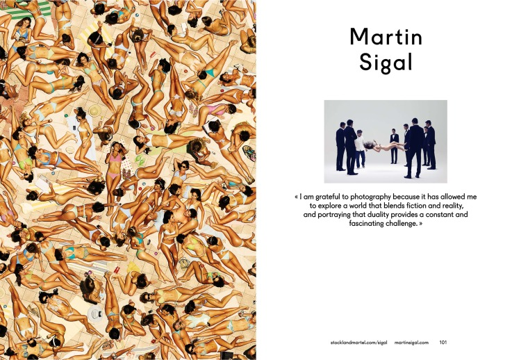 Martin Sigal's opening spread in SMart Book 2013.