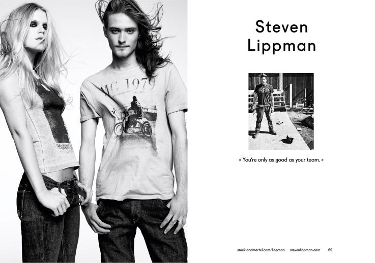 Steven Lippman's opening spread in SMart Book 2013.