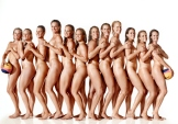 """Photo by Art Streiber. From """"Water polo team bares all for Art Streiber and ESPN The Magazine."""""""