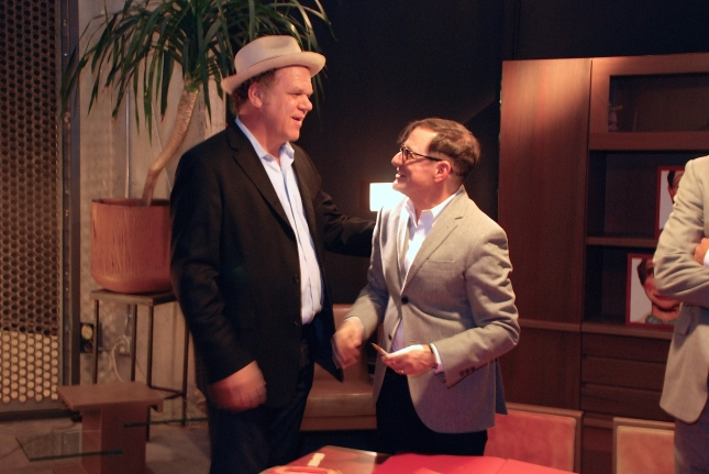 Matthew chats with John C. Reilly. Photo © R-ROLL/MRPI, 2013. All rights reserved.