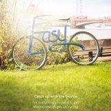 """Photo by Jason """"Giblin"""" Hindley. From """"Jason 'Giblin' Hindley photographs bicycles that make a statement for Transport for London ad campaign."""""""