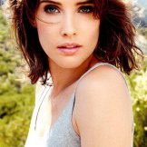 """Photo by Jeff Lipsky. From """"'How I Met Your Mother' star Cobie Smulders smolders in Jeff Lipsky shoot for Women's Health."""""""