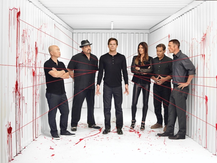 "The cast of ""Dexter."" Photo by Jim Fiscus for Showtime."