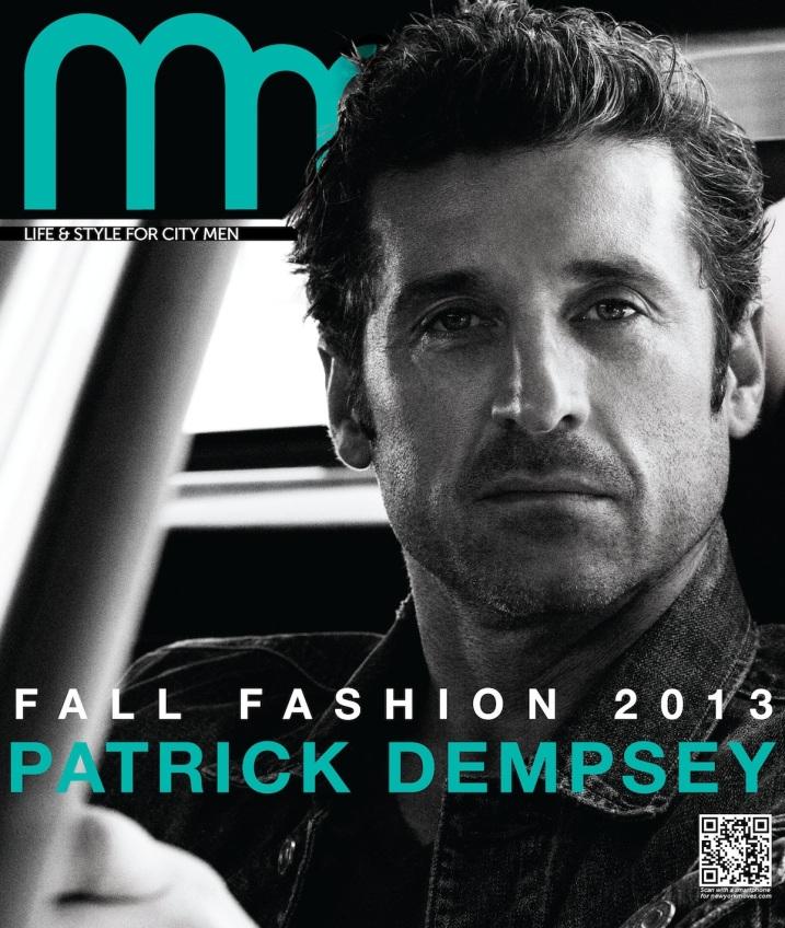 Michael Muller_Patrick Dempsey cover