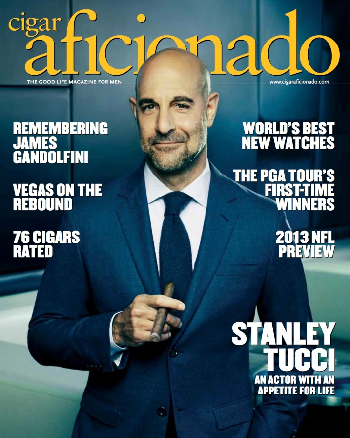 Sam Spector_Stanley Tucci cover