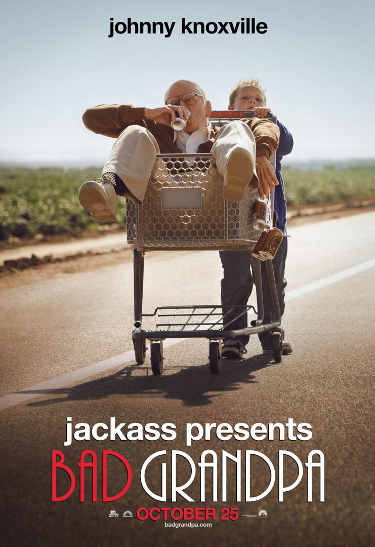 Art Streiber_Bad Grandpa shopping cart