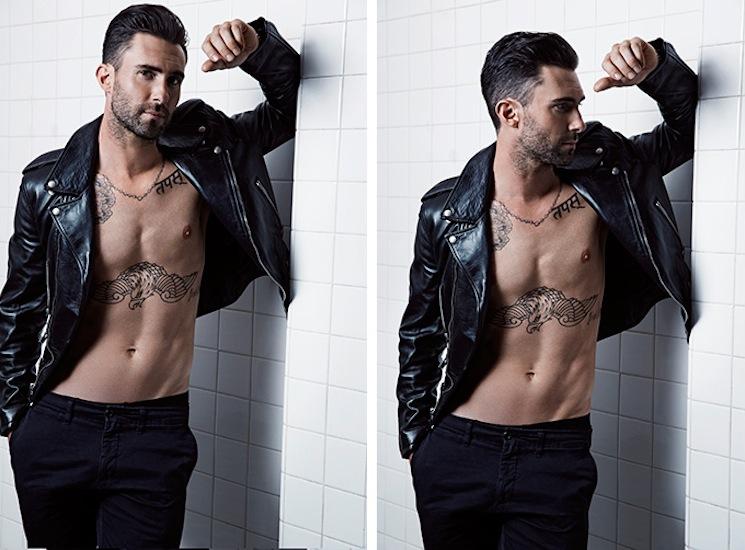 Nino Muñoz_Adam Levine jacket