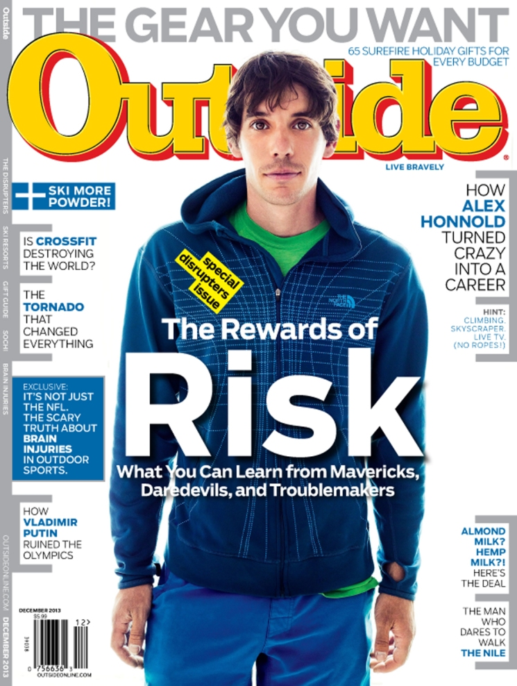 Michael Muller_Alex Honnold cover