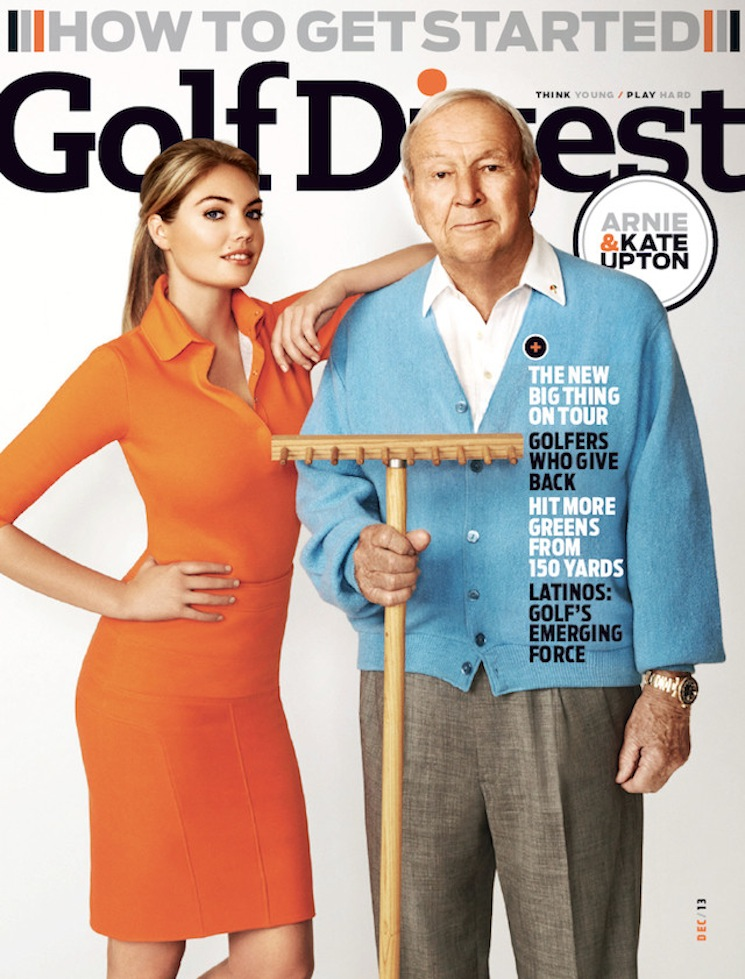Walter Iooss_Kate Upton_Golf Digest