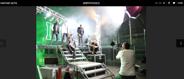 ESPN Music Issue BTS 2