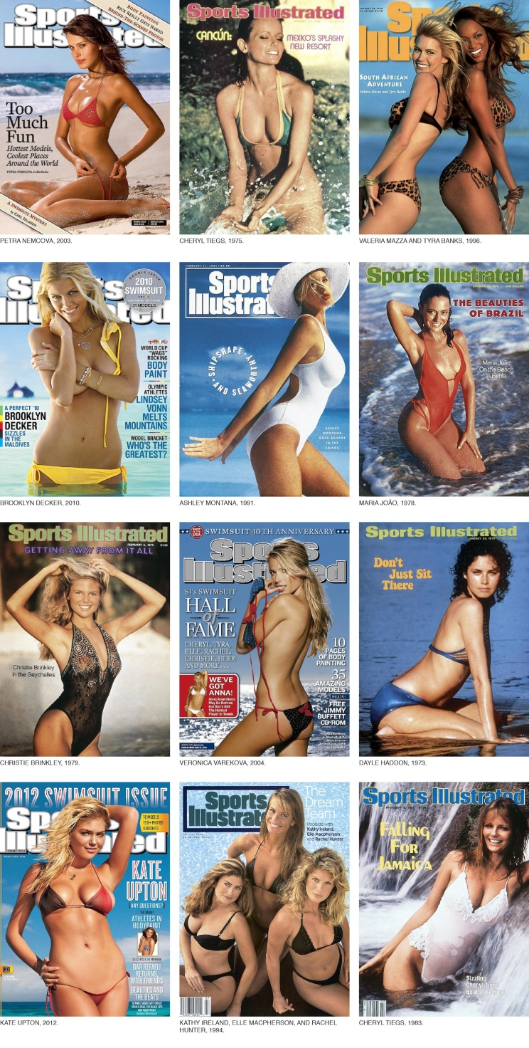 Walter Iooss_Swimsuit Issue covers
