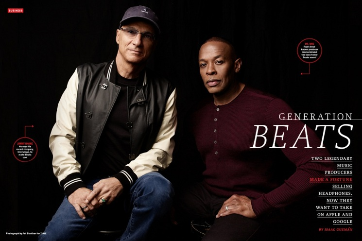 Art Streiber_Jimmy Iovine and Dr. Dre