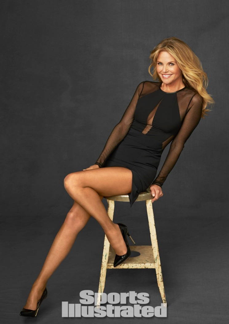 Christie Brinkley. Photo by Walter Iooss for Sports Illustrated.