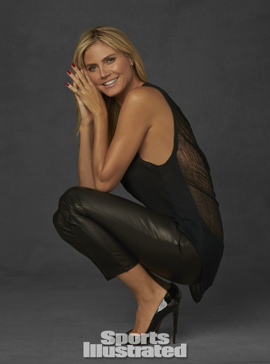 Heidi Klum. Photo by Walter Iooss for Sports Illustrated.