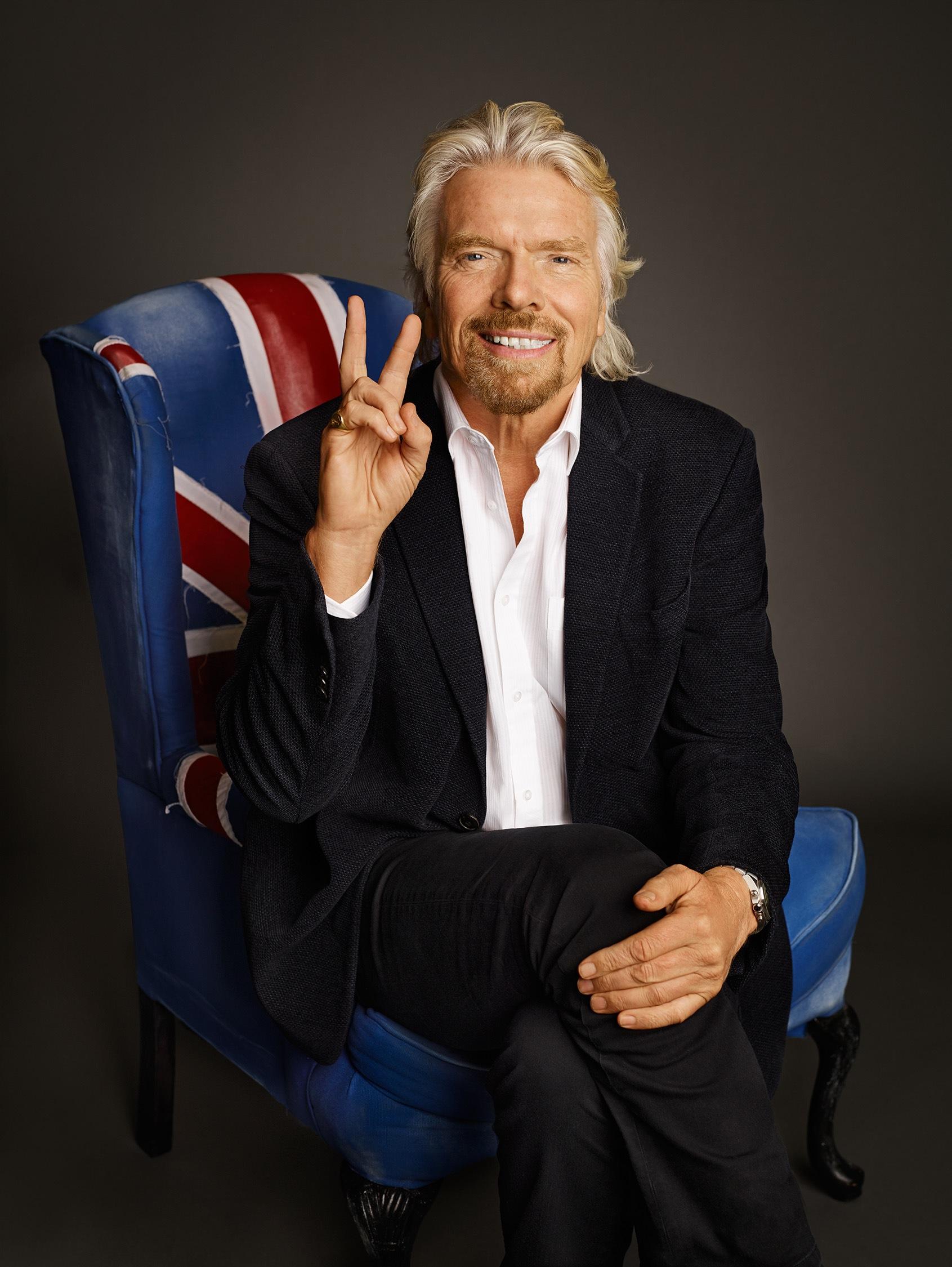 Richard Branson by Jeff Lipsky « Stockland Martel Blog