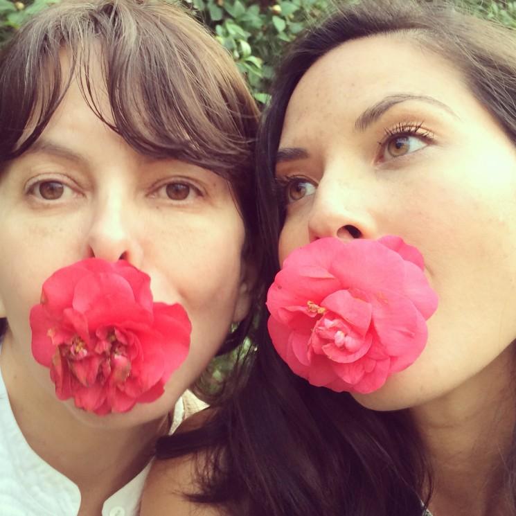 Melanie Acevedo and Olivia Munn