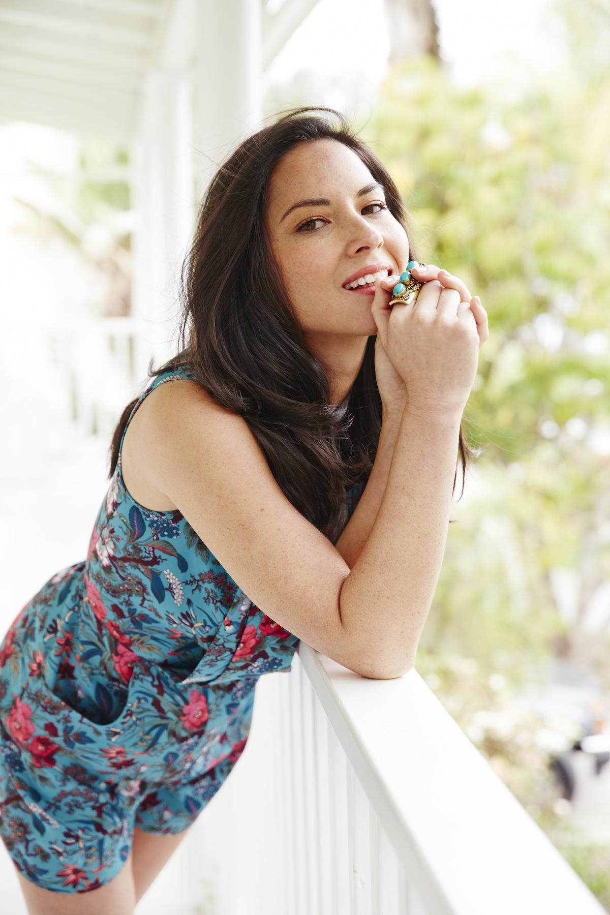 Melanie Acevedo photographs actress Olivia Munn for spring ... Olivia Munn