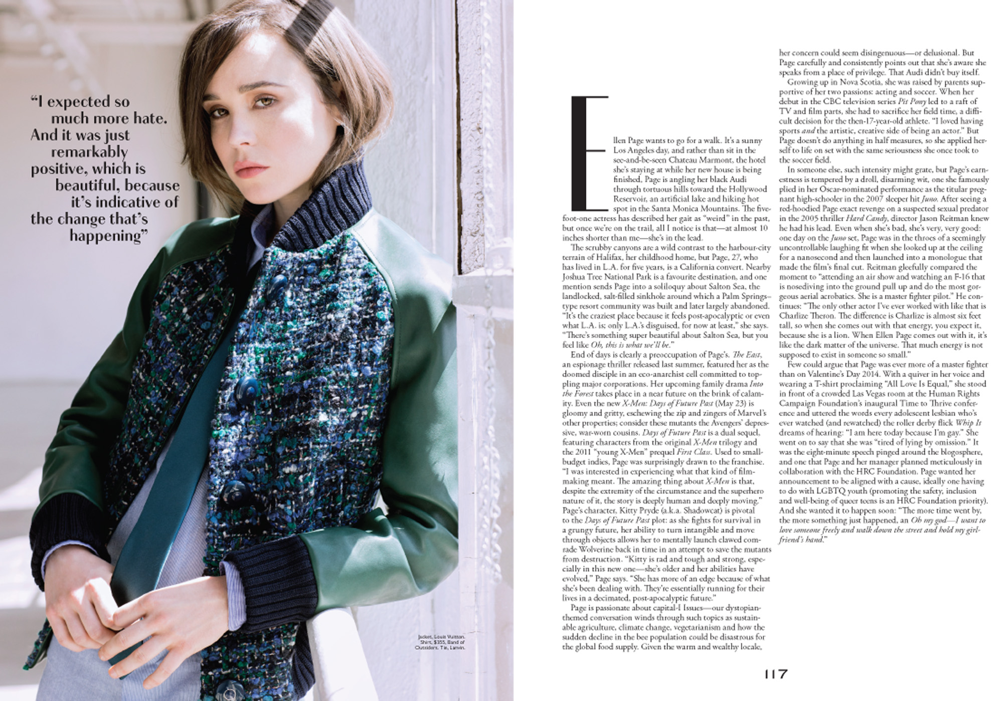 Photo Page: Nino Muñoz Photographs Actress Ellen Page For The Cover Of