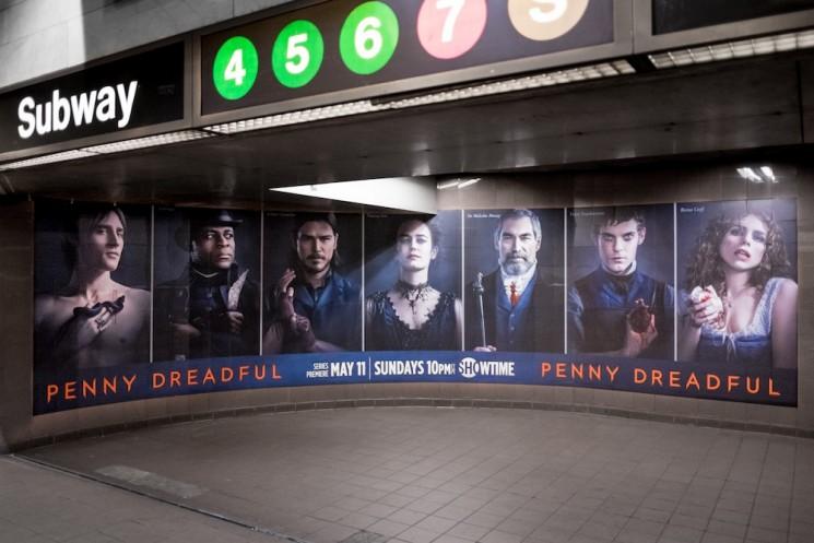 Penny Dreadful subway 1