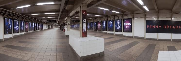 Penny Dreadful subway 2