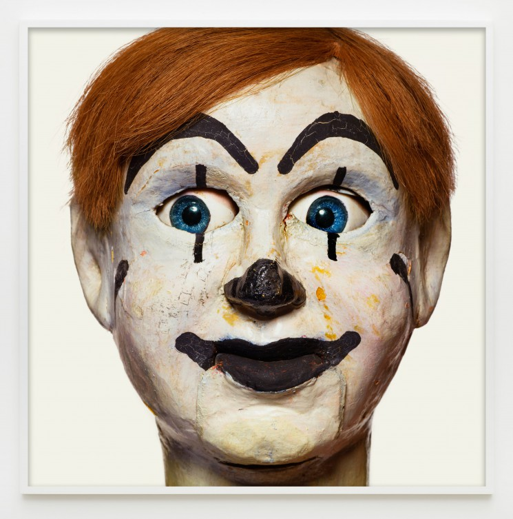 "Matthew Rolston, ""Anonyma Boy,"" from the series ""Talking Heads,"" pigment print, 60 x 60 inches (framed view). © Matthew Rolston Photographer, Inc./courtesy Diane Rosenstein Fine Art."