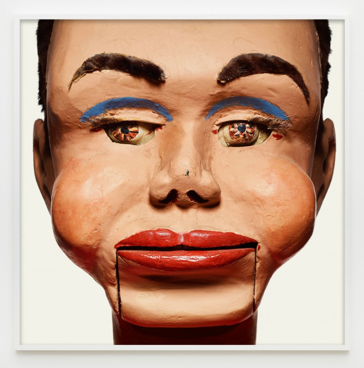 "Matthew Rolston, ""Carlos,"" from the series ""Talking Heads,"" pigment print, 60 x 60 inches (framed view). © Matthew Rolston Photographer, Inc./courtesy Diane Rosenstein Fine Art."