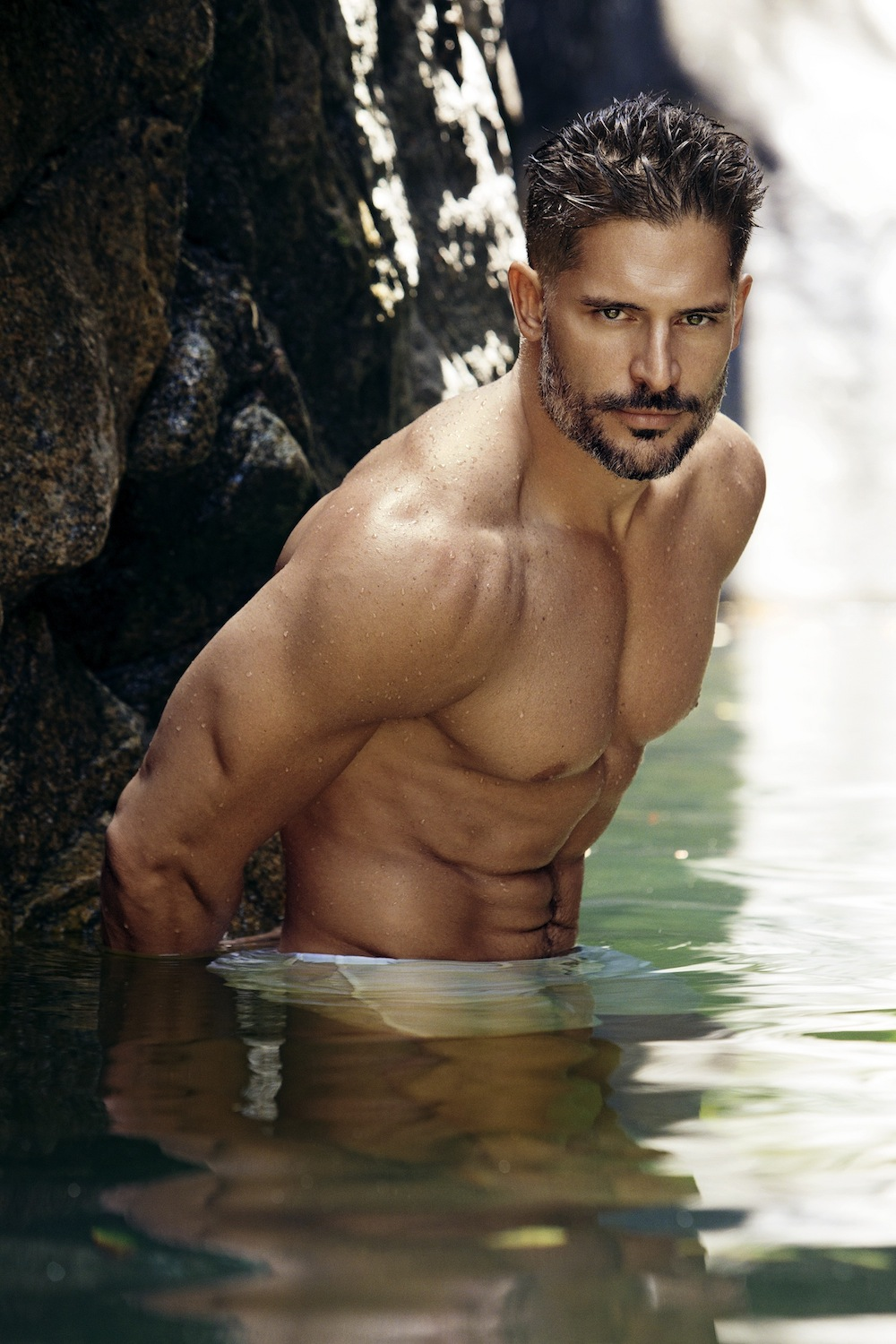 "... "" Joe Manganiello shirtless on the beach « Stockland Martel Blog"