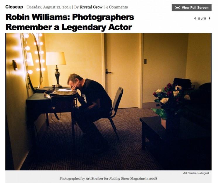 Art Streiber_Robin Williams