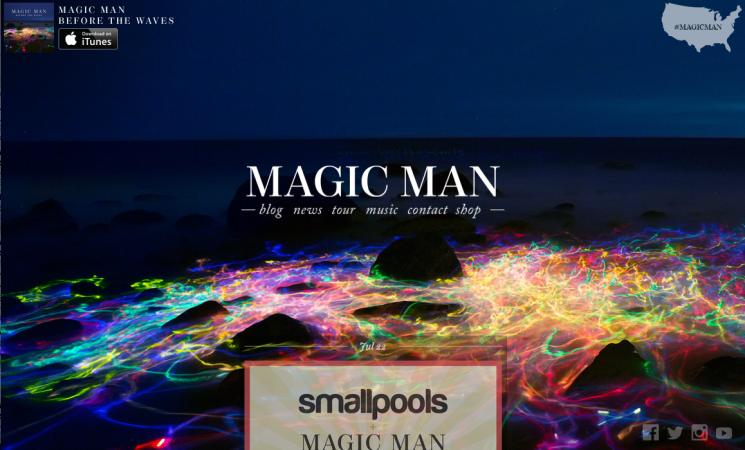 Tobias Hutzler_Magic Man website